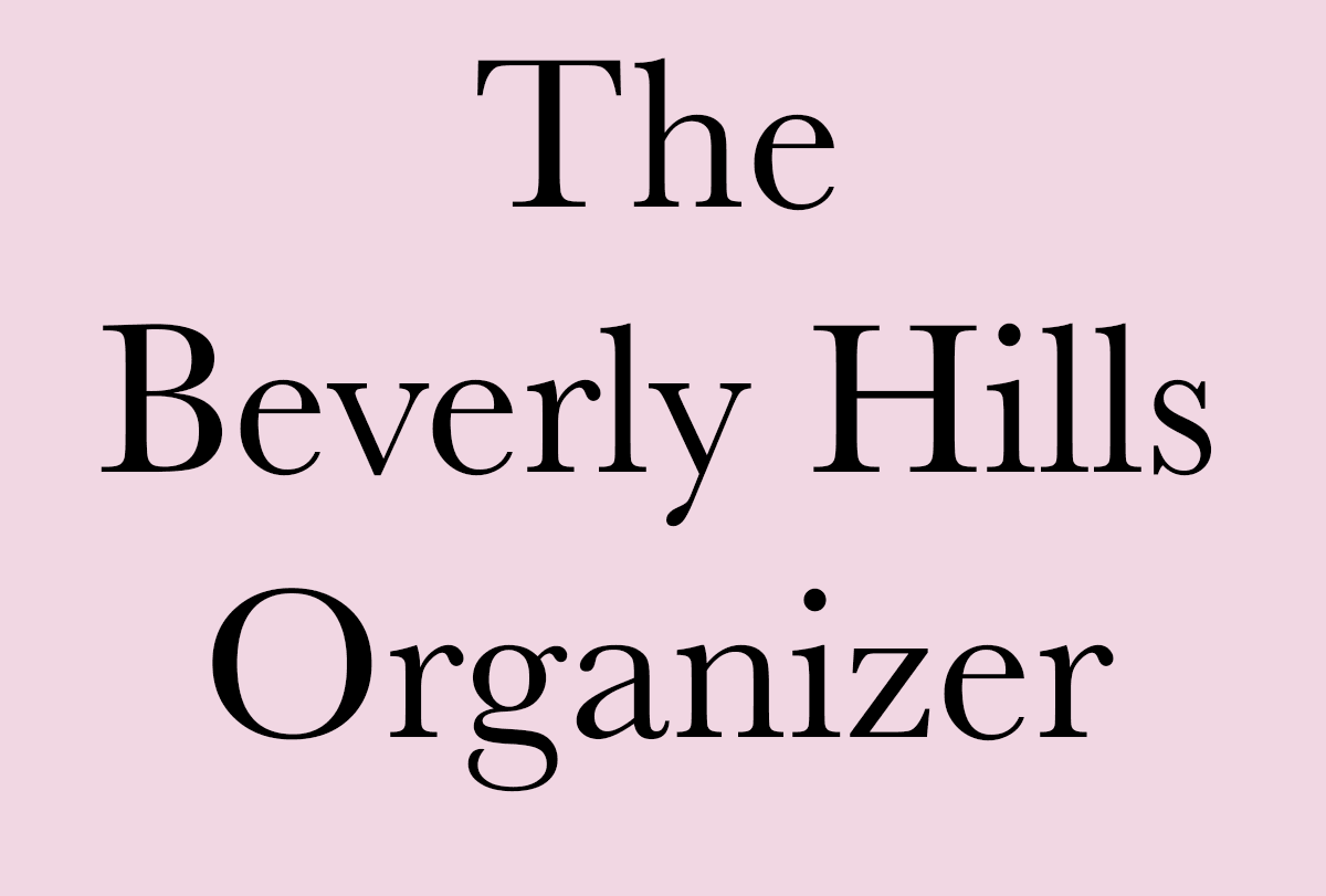 The Beverly Hills Organizer
